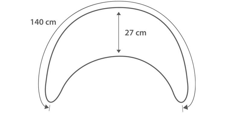 Abmessungen Plüschmond